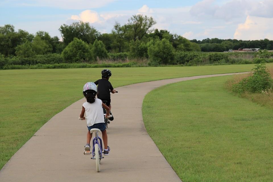kid bike riding